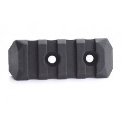 PTS Enhanced Rail Section (Keymod) 4 Slots - black