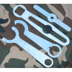 Set of 4 tools for Systema PTW