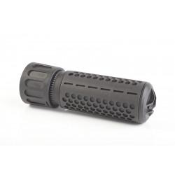 Knight's Armament Airsoft 556 QDC / CQB Airsoft Suppressor w/ Quick Detach Function (14mm CW) - BLACK