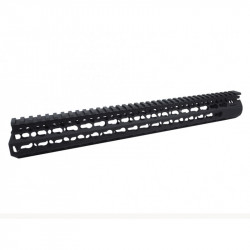 DYTAC 15 inch BRAVO Rail for M4 PTW Profile in Black -