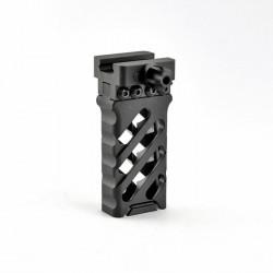 Grip avant CNC ultralight QD noir style croisé