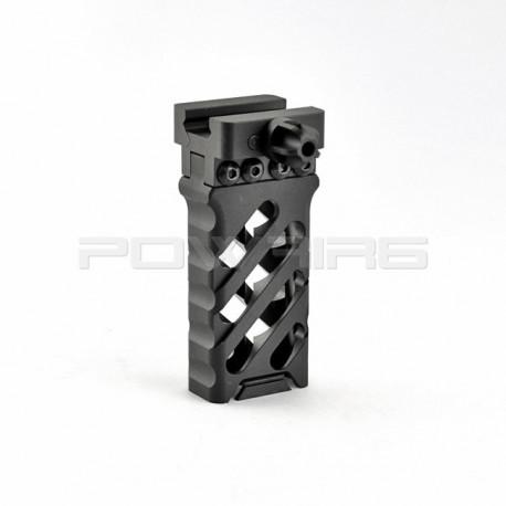 Ultralight Vertical 20mm Grip cross style (black) -