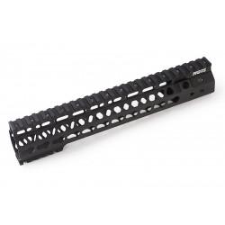 G&P RIS MOTS 10.75 inch Keymod pour M4 PTW / GBBR (noir)