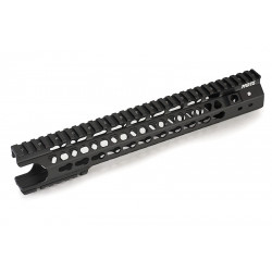 G&P MOTS 12.5 inch Keymod (Wire Cutter Design) for PTW / GBBR M4 (black) -