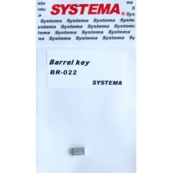 Systema barrel key for PTW hop-up unit -