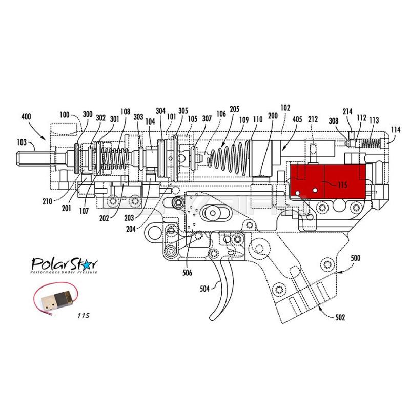 Polarstar Spare Solenoid Valve For Fusion Engine V2