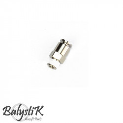 BalystiK Adapteur 1/8 NPT male pour flexible 6mm