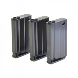 VFC 160rds Magazine for SCAR-H 3pcs Box Set (Black) - Powair6.com