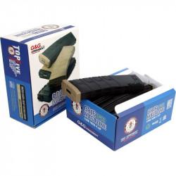 G&G 120rds midcap magazine for M4 AEG Box of 5 (black/desert tan) -