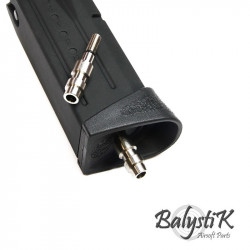 Balystik HPA male connector for MARUI magazine (US version) - Powair6.com