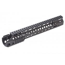 G&P RIS MOTS 12.5 inch Keymod découpé pour M4 AEG (noir)