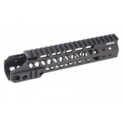 G&P RIS MOTS 9 inch Keymod découpé pour M4 AEG (noir)