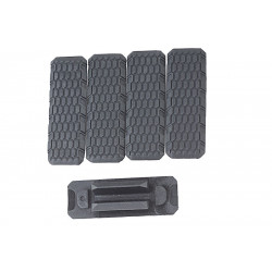 Madbull Strike Industries MLOK Cover V2 Style (5pcs) - BK -