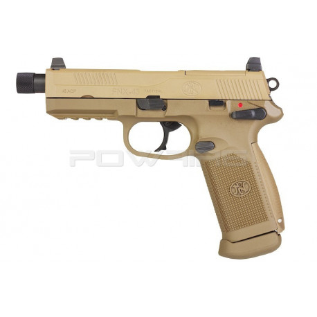 Cybergun VFC FNX 45 TACTICAL GBB Tan -
