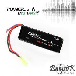 Balystik 11.1V 1300mAh 30C LiPo Battery (MINI TAMIYA) -
