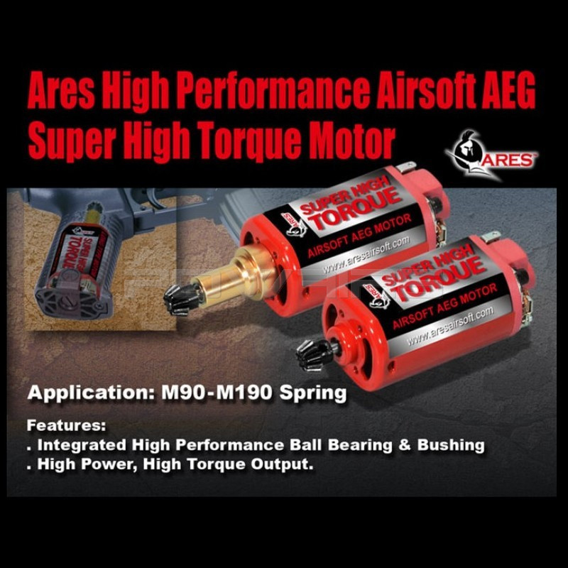 Ares super high torque long type motor motor 003 for Long type motor airsoft