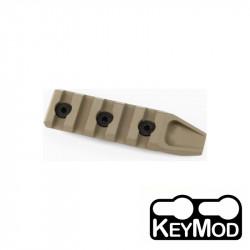 ACM rail picatinny keymod 4 slots pour RIS URX4 (DE) -