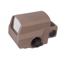 Blackcat Airsoft LCO Style Red Dot Sight - Tan