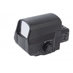 Blackcat Airsoft LCO Style Red Dot Sight - Noir