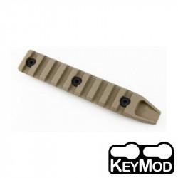 ACM 9 slots KeyMod Rail Section for URX4 Handguard (DE) -