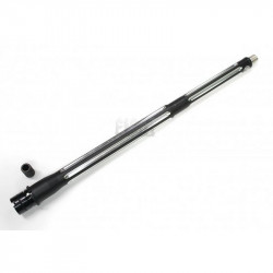 FCC BAD style Ultramatch 16inch outer barrel kit for PTW/WA GBB (Black/Silver) -
