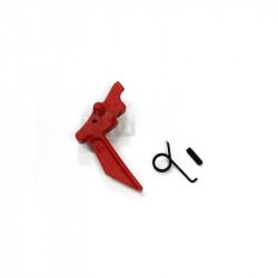 FCC détente ajustable type G pour PTW M4 (rouge) -