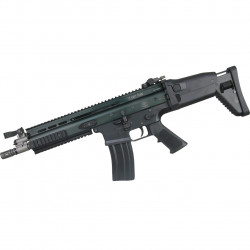 WE SCAR MK16-L Open Bolt Version (Black) - Powair6.com