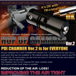 PDI chambre Hop Up V2 pour Tokyo Marui VSR-10