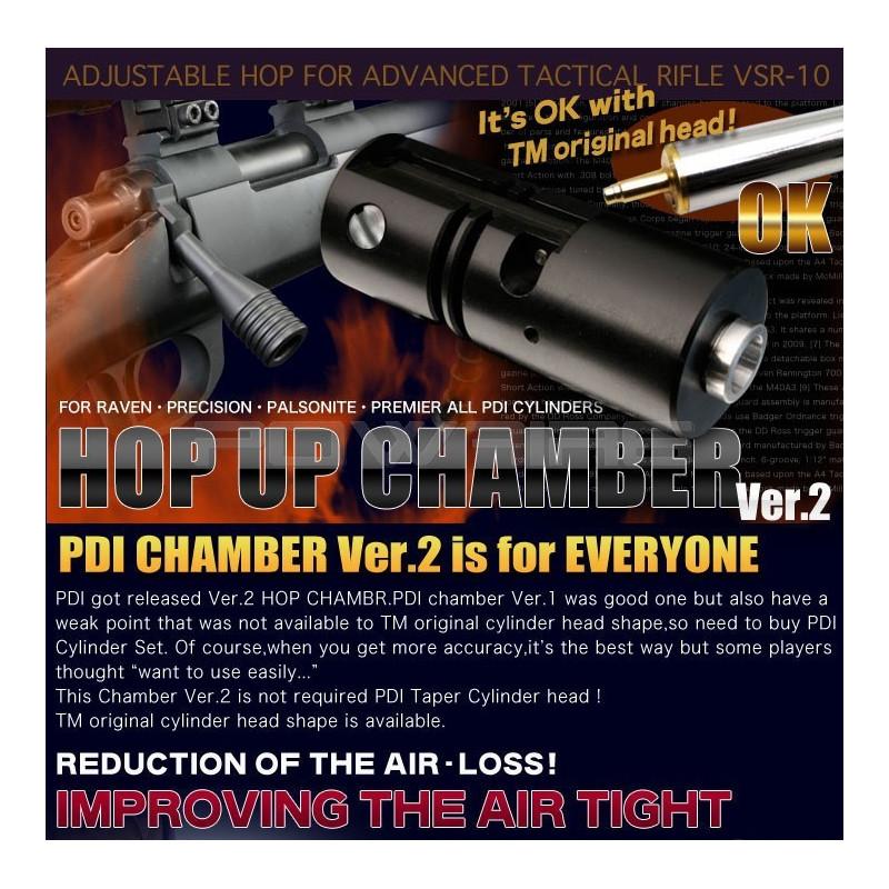 PDI Hop Up Chamber Ver 2 for Tokyo Marui VSR-10