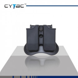 CYTAC Porte Chargeurs double universel (sauf glock)