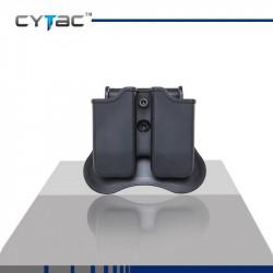 CYTAC Porte Chargeurs double universel (sauf glock)