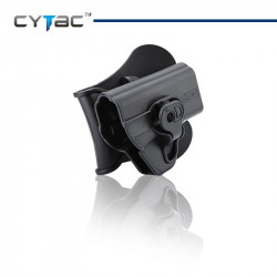 CYTAC Holster rigide pour Smith & Wesson M&P