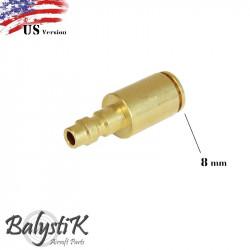 BalystiK coupleur male avec entrée Macroflex 8mm (version US)