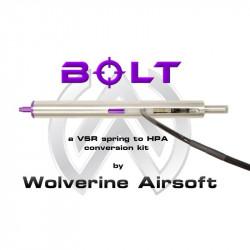 Wolverine BOLT HPA Conversion Kit for VSR-10 Sniper Rifles - With Cylinder - Powair6.com