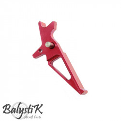 Balystik CNC Trigger for M4 AEG (red)