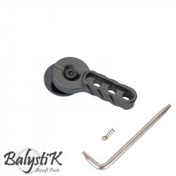 Balystik CNC firing selector for M4 AEG (grey) -