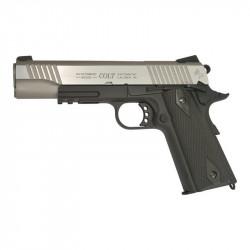 KWC Colt 1911 Rail CO2 Noir / Silver