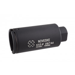 Madbull Noveske KX3 Adjustable Amplifier Flash Hider (Black / CCW)