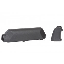 ARES Amoeba Striker S1 Pistol Grip with Cheek Pad Set for Striker S1 - Black - Powair6.com
