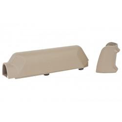 ARES Amoeba Striker S1 Pistol Grip with Cheek Pad Set for Striker S1 - DE