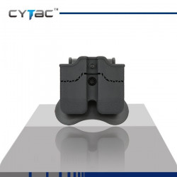 CYTAC Porte Chargeurs double glock