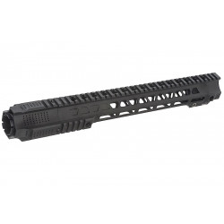 G&P LONG Railed Handguard with SAI QD System for GBB M4