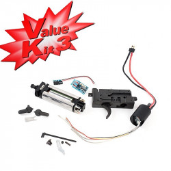 Systema Value Kit 3-1 Ambidextrious Gearbox (Burst) - Powair6.com