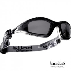 Bolle TRACKER Polycarbonate Safety Glasses (smoke) -