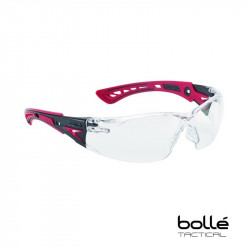 Bolle RUSH+ Polycarbonate Safety Glasses (clear) -