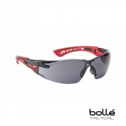 Bolle RUSH+ Polycarbonate Safety Glasses (smoke) -