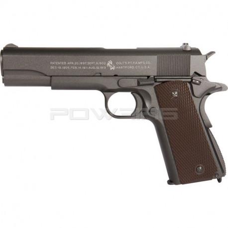 Cybergun / KWC Colt 1911 Anniversary CO2 GBB (full métal) -