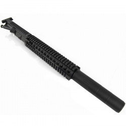 P6 Daniel Defense MK18 upper receiver for PTW M4 V2 (12 inch version, Black)