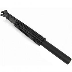 P6 Daniel Defense MK18 upper receiver for PTW M4 V2 (12inch version, Black) -