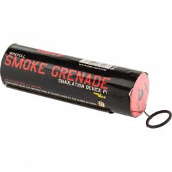 Fumigène Enola Gaye à goupille WP40 - Rouge - Powair6.com